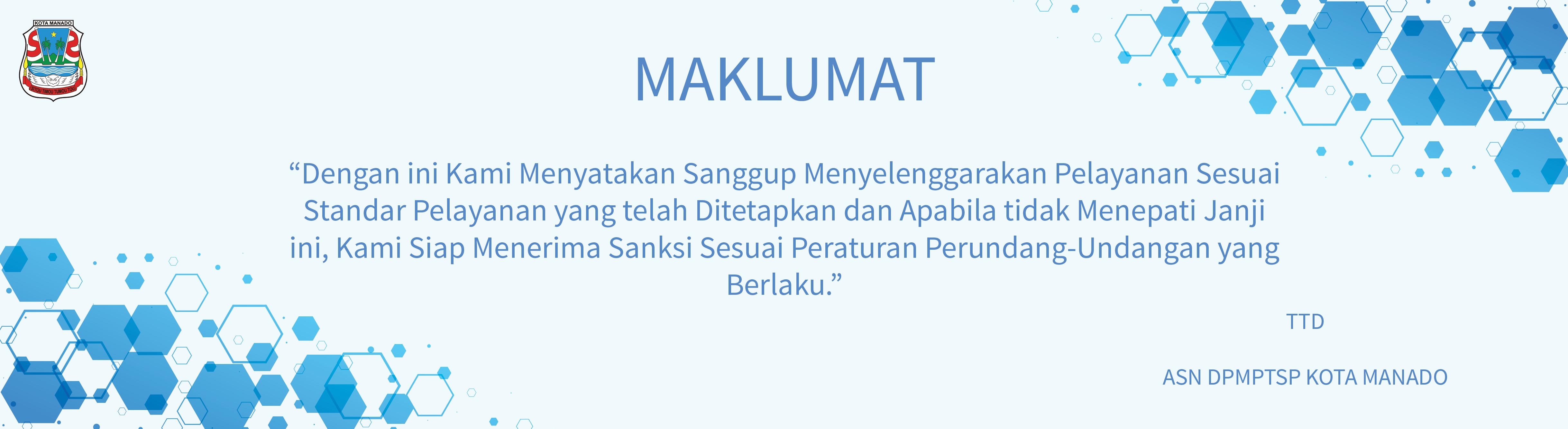 Sip2t Dinas Pm Ptsp Pemerintah Kota Manado